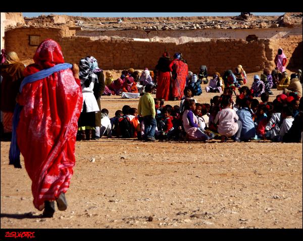 Población Saharaui en Tinduf / Nagore Ares Amaya