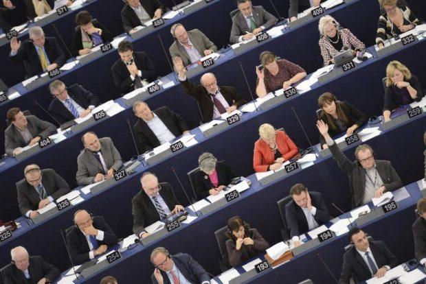 Pleno del Parlamento Europeo / EFE