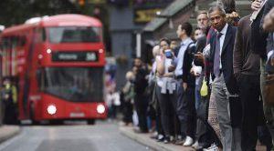Trabajadores en Londres (EFE)