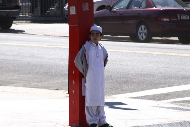 Muslim Boy in Sunnyside, Queens / Chris Goldberg