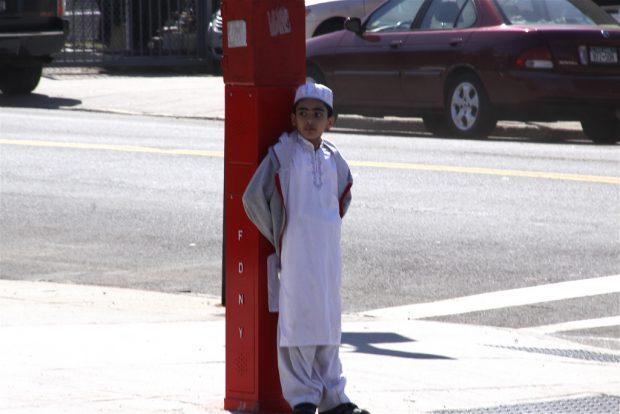 Muslim Boy in Sunnyside, Queens / Chris Goldberg