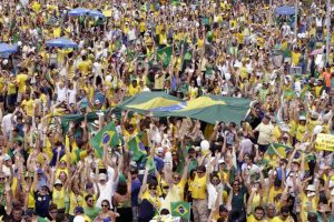 Una protesta en Brasil el mes de mayo contra la situación política en el país / EFE