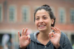 Yusra Mardini, nadadora siria que conforma el equipo de los refugiados / COI