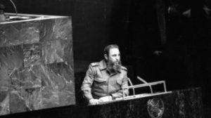 Fidel Castro en la ONU / Gobierno de Cuba
