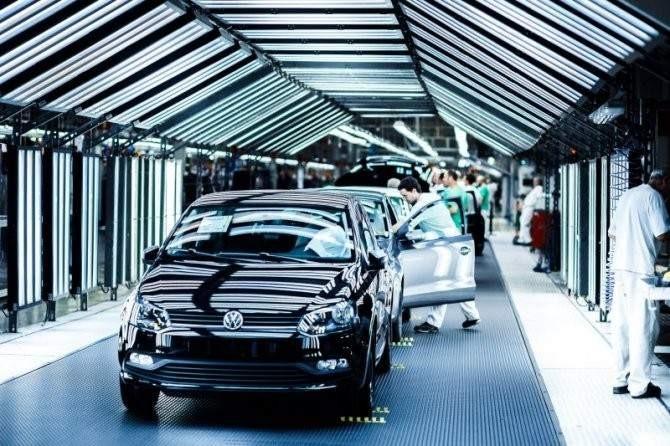 Fábrica de Volkswagen en Navarra / VW