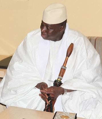 Gambia ex presidente