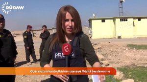 La reportera kurda Shifa Gardi murió el sábado en Mosul por el estallido de una bomba menos de una hora después de su última conexión en directo