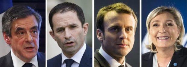 candidatos presidenciales Francia 2017