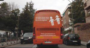 Autobús transfóbico de Hazte Oír / EFE