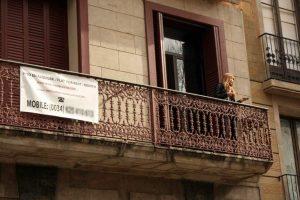 Un piso turístico en el barrio de Ciutat Vella, en Barcelona / FOTO: ACN