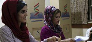 Jornada de votación en el Kurdistán iraquí / FOTO: GAILAN HAJI - EFE