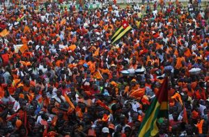 Togo manifestación