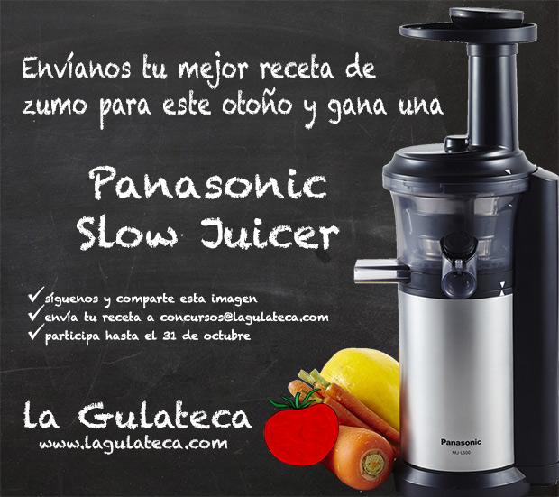 Concurso Panasonic Slow Juicer