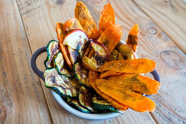 Receta Exprés Chips Vegetales Al Microondas