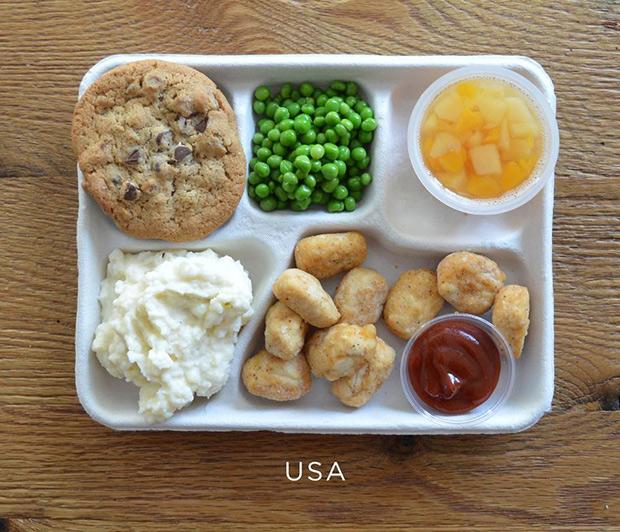 Los menús escolares a lo largo del mundo (¿Gambas en los comedores ...