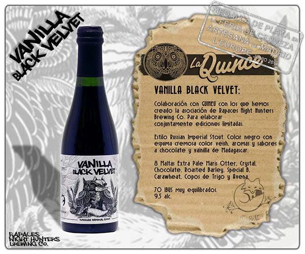 Vainilla Black Velvet