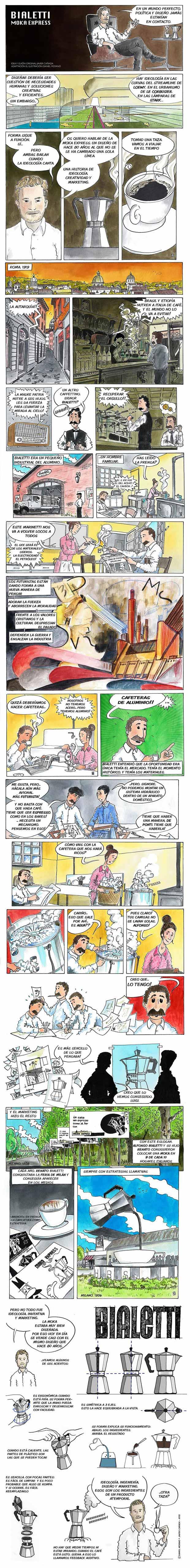 Comic-cafetera
