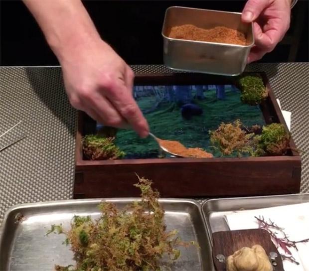 El restaurante que usa un ipad como plato para servir la for Servir comida