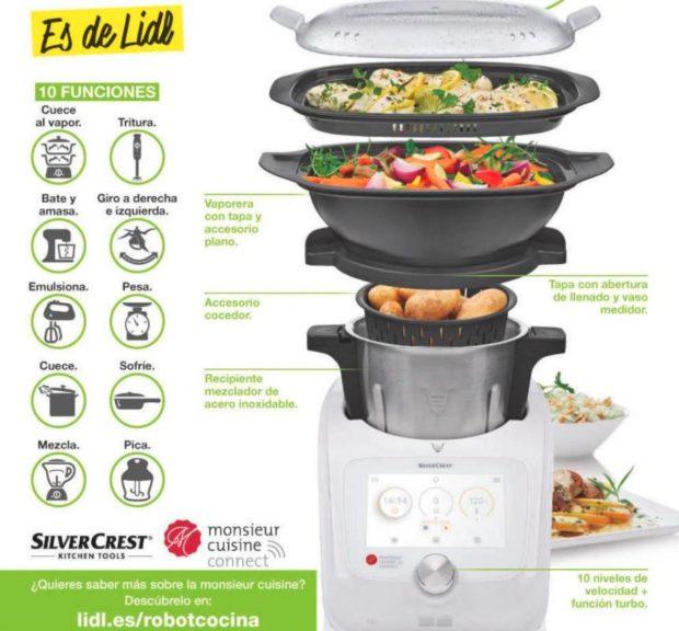 Histeria con el robot de cocina de lidl el fin de la era for Robot cocina lidl opiniones