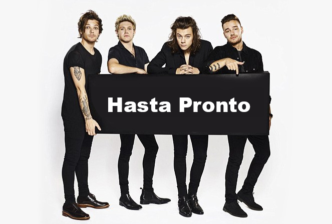 onedirection hasta pronto