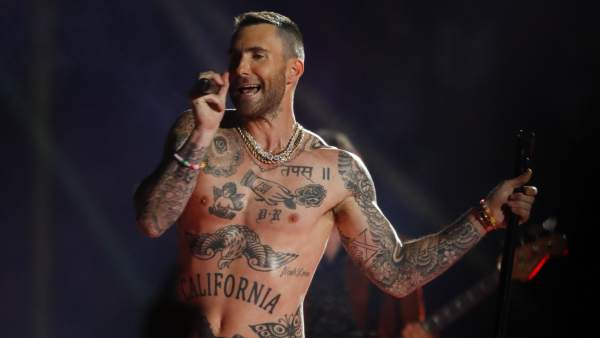 El Pecho Desnudo De Maroon 5 Y El Recuerdo Al Pezón De Janet Jackson