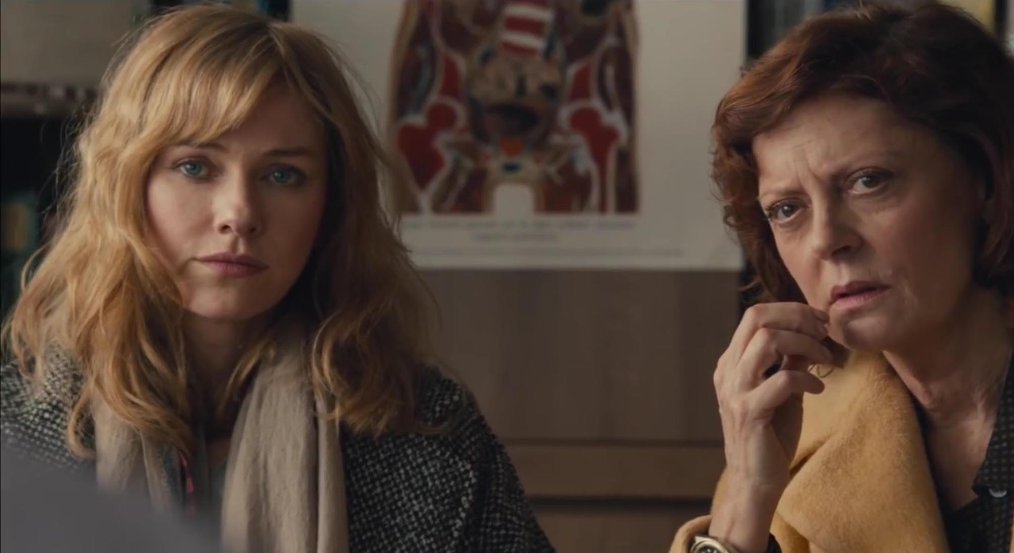 Susan Sarandon y Naomi Watts son la familia de un adolescente ...