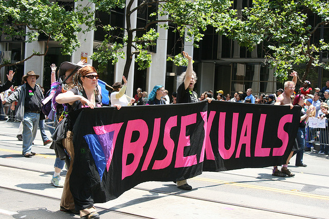 'Bisexuals: they do exist!' /Foto: Caitlin Childs (2009)