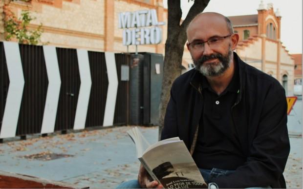 José Luis Serrano es el autor del libro 'Lo peor de todo'/Foto: Enrique Anarte