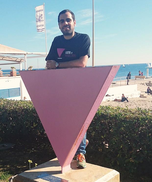 Arkaitz Arce del Área de Libertad de Expresión Afectivo Sexual de @IUnida