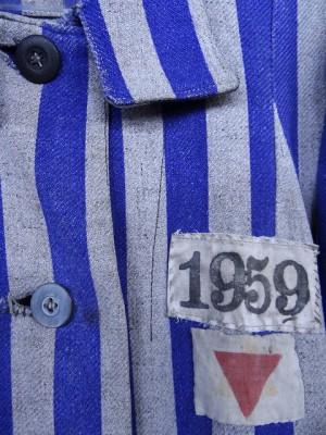 Uniforme de un prisiopnero del Campo de Concentración de Majdanek / Foto: Adam Jones