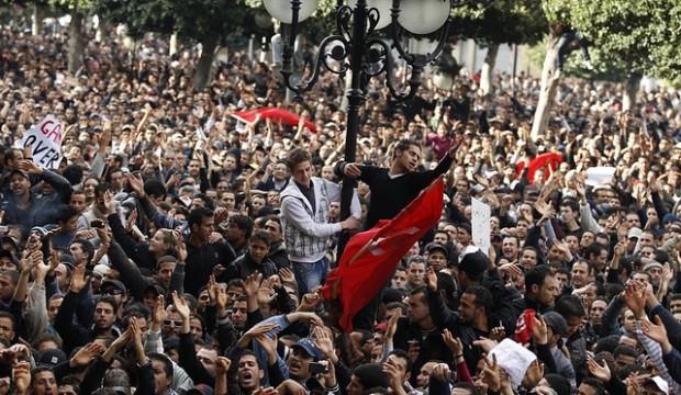 'Tunisian Revolution' / Foto: Khaled Abdelmoumen