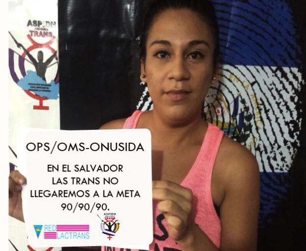 Foto de la campaña de ASPIDH Arcoiris / Vía Facebook