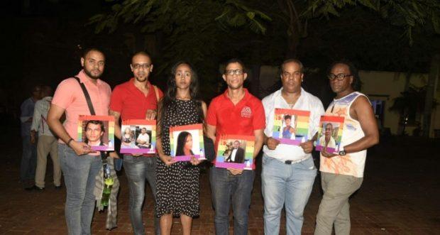 Foto de los activistas de TRANSSA (República Dominicana)