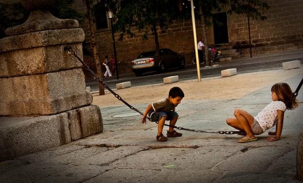 Juego de niños/Foto: Javier Sastre