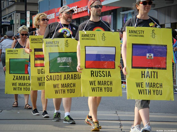 World Pride Parade Toronto/Foto: Amnistía Internacional