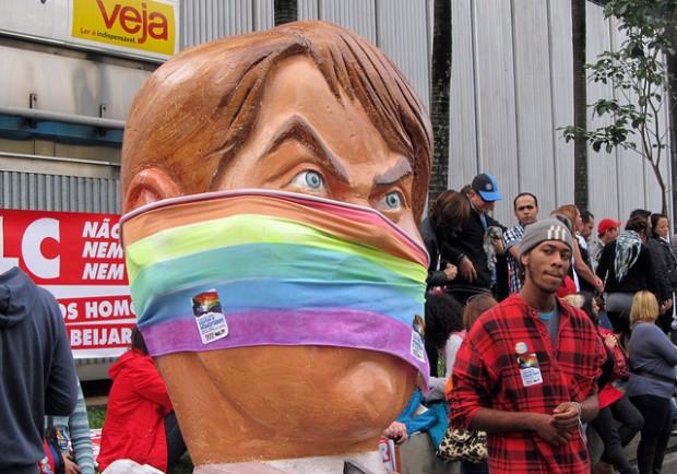 'El odio será callado' / Footo: Mariana Soares (vía Flickr)