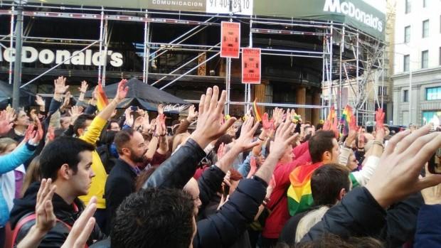"""""""Pedimos a la ciudadanía que apoye nuestra reivindicaciones"""" / Foto: Enrique Anarte"""