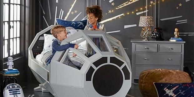 Star Wars cama Halcon Milenario