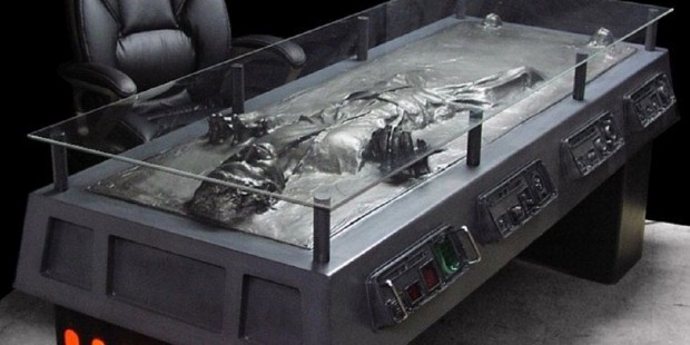 Star Wars escritorio carbonita