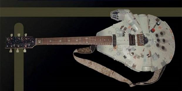 Star Wars guitarra Halcon Milenario