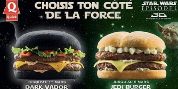 Star Wars hamburguesa