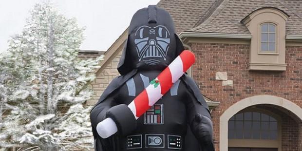 Star Wars hinchable Navidad Darth Vader