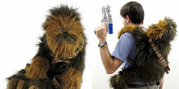 Star Wars mochila Chewbacca