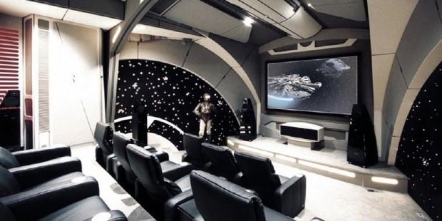 Star Wars sala de cine en casa