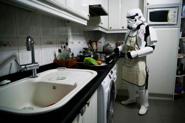 Stormtroopers cocinando