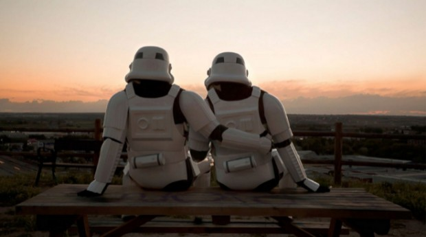 Stormtroopers puesta de sol