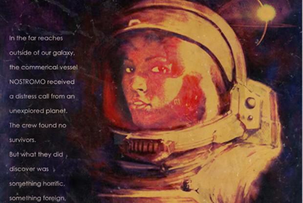 Alien - Poster con Pam Grier