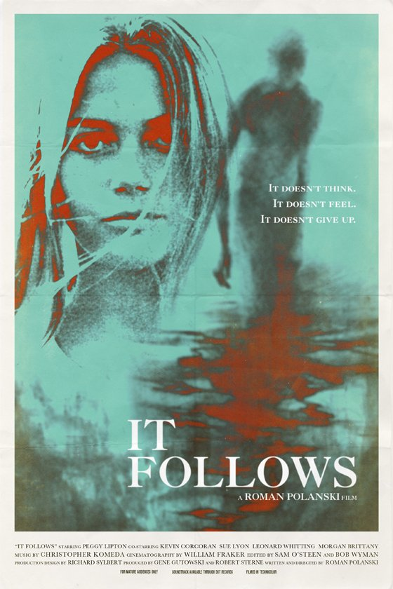 It Follows poster - Roman Polanski