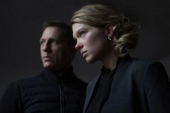 Spectre - Daniel Craig y Léa Seydoux 2015