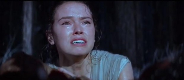 Star Wars VII screenshot Rey